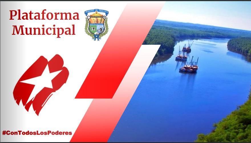 Plataforma municipal por FMLN